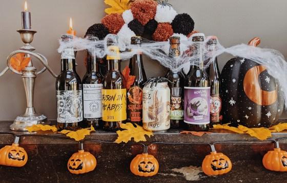 oktoberdots halloween biertjes bierproeverij