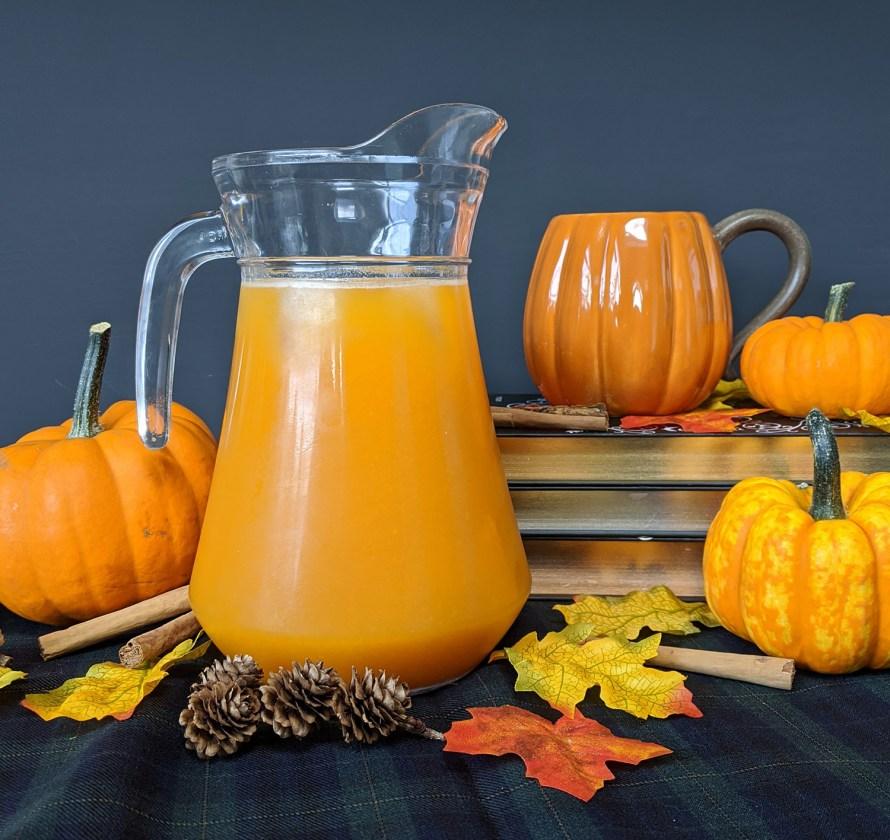 Pumpkin juice maken