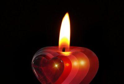 significato delle candele rosse