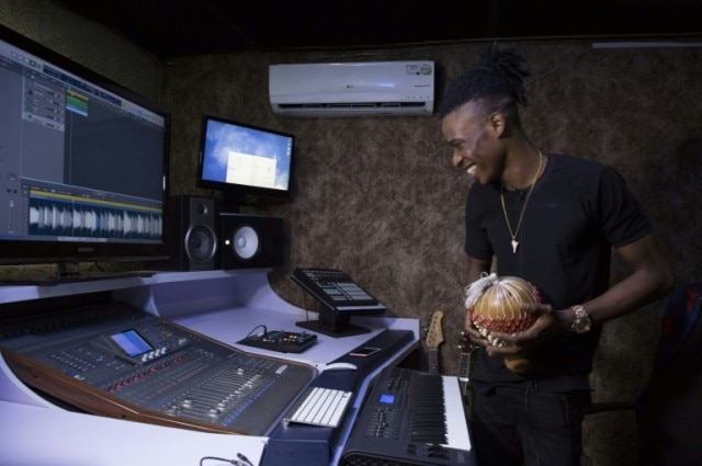 Nigerian music producer Krizbeatz takes his inspiration from Fela when he's at his mixing desk