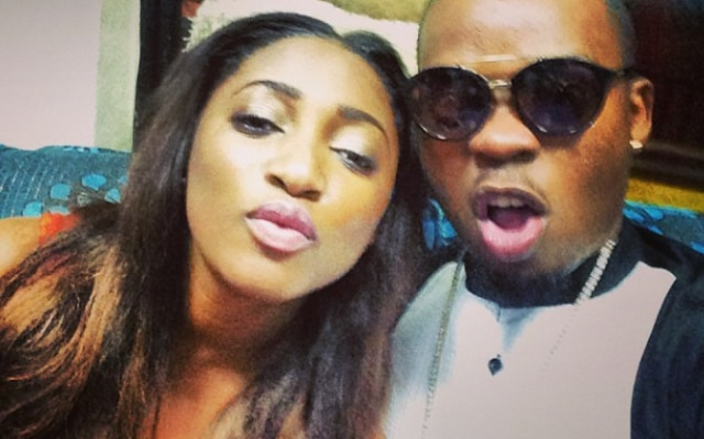 Olamide and girlfriend, Ade and their son, Maximiliano
