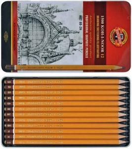 k3 267x300 - Niçin Kurşun Kalemlerin Çoğu Altıgen ve Sarı Renkte?