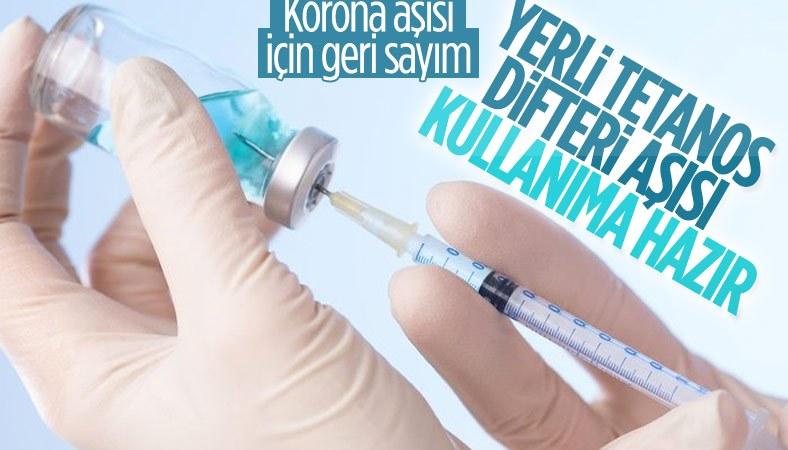 İlk yerli aşımız tetanos-difteri kullanıma hazır