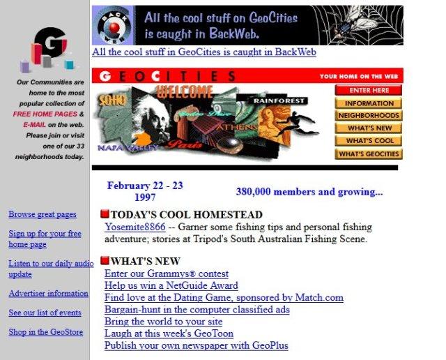 apple youtube ve digerleri web siteleri 90li yillarda nasil gorunuyordu 9 7BOeyd7J - Apple, YouTube ve Diğerleri: Web Siteleri 90'lı Yıllarda Nasıl Görünüyordu?