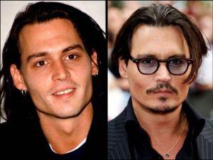 Johnny Depp 300x225 - Ünlülerin Genç ve Yaşlı Halleri