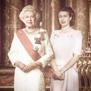 Kralice Elizabeth 300x300 - Ünlülerin Genç ve Yaşlı Halleri