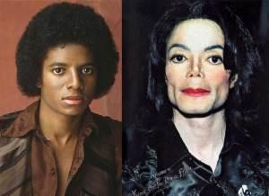 Michael Jackson 300x218 - Ünlülerin Genç ve Yaşlı Halleri