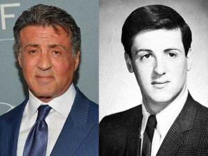 Sylvester Stallone 300x225 - Ünlülerin Genç ve Yaşlı Halleri