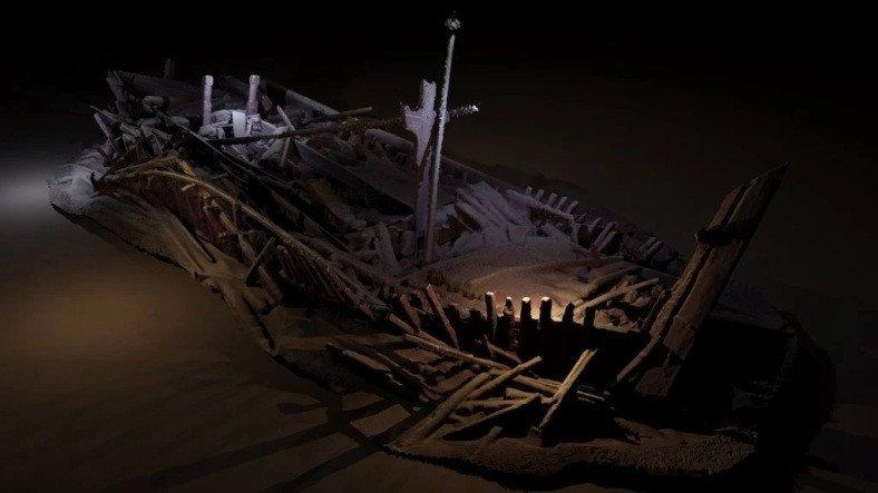 Karadeniz'in Derinliklerinde Duran Batık Osmanlı Gemileri