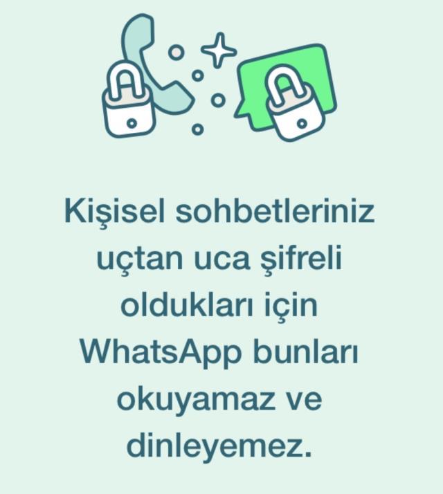 whatsapptan turkiyedeki kullanicilarina ozel bilgilendirme mesajlari kesinlikle goremiyoruz 3 bWrBBEnl - WhatsApp'tan Türkiye'deki kullanıcılarına özel bilgilendirme: Mesajları kesinlikle göremiyoruz