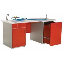 FL-01 fizik lab öğretmen-masası-ve-ana-kumanda-paneli