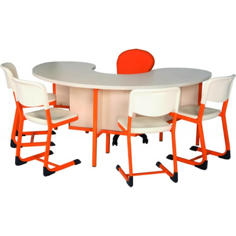 4 kişilik etüt masası