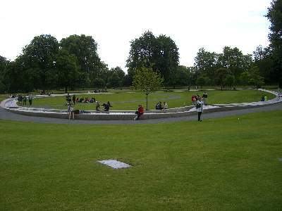 The Diana Princess of Wales Memorial Fountain