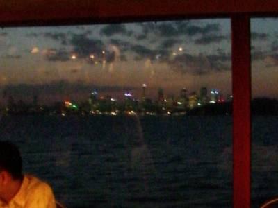 夕暮れに浮かぶシドニーのスカイライン