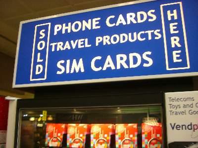 SIM カード自動販売機