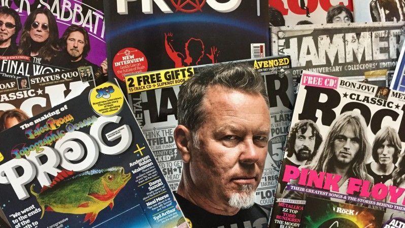 Team Rock, Metal Hammer y Classic Rock