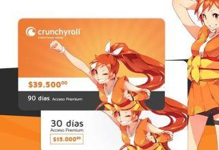 Crunchyroll Tarjetas Prepago