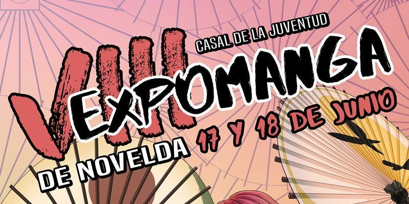Expomanga Novelda Banner