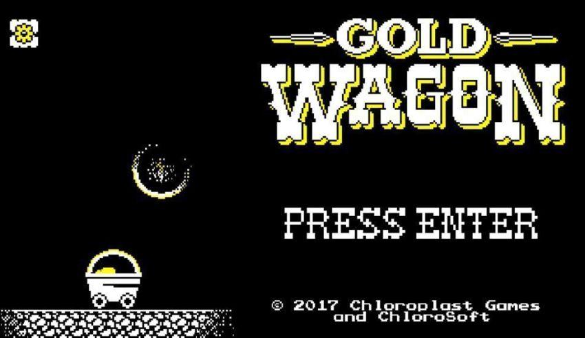 Gold Wagon de Chloroplast Games