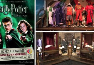 Harry Potter The Exhibition Banner