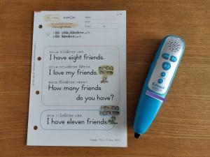【公文英語】音声ペンが便利で時代の変化を感じる