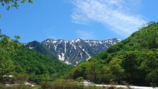17年6月6日荒沢岳