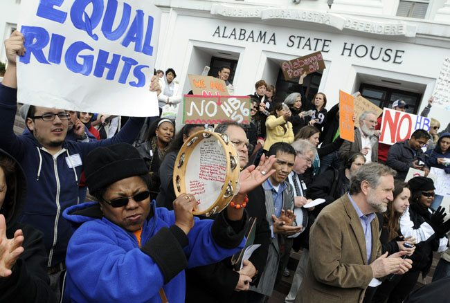 ALABAMA'S TOUGH NEW IMMIGRATION LAW