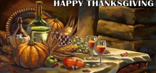 happy-thanksgiving-painting-table-pumpkin-wine-holiday