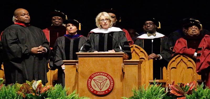 Bethune-Cookman Chastised Over DeVos Speech