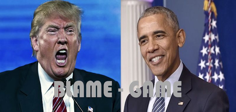 Blame-Game: Trump Blames Obama Over Russia