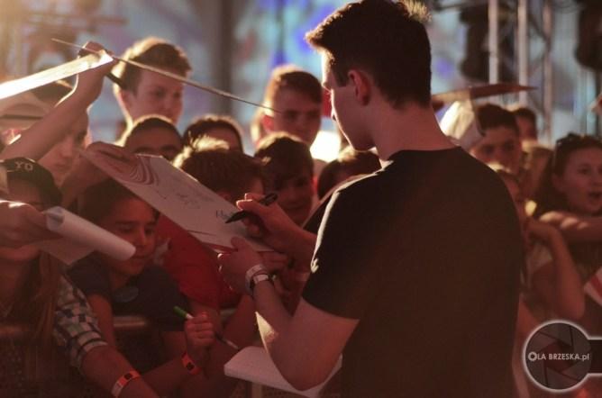 Strefa autografów na Orange VideoFest