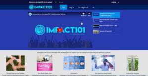 Personalisierte Wesite Impact101 Crowdfunding