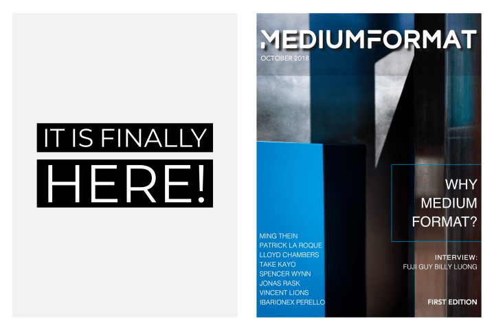 The first issue of the Medium Format Magazine is here!