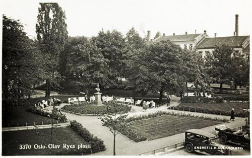 3370 Oslo. Olav Ryes plass
