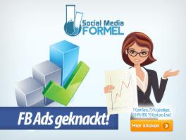 FB Ads geknackt dank Social Media Formel