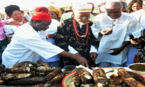 How Ilara-Mokin People Celebrate Yam Festival by Nicholas Oladipupo