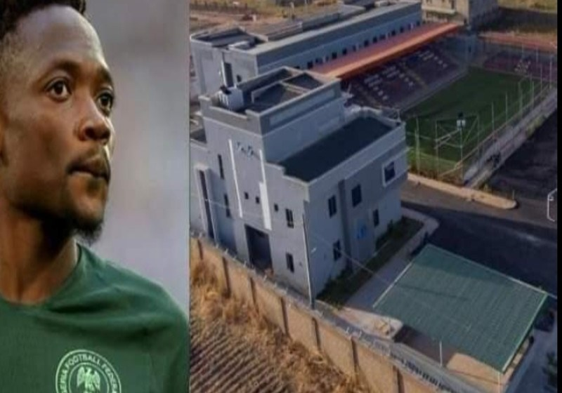See Photos of Ahmed Musa's New Ultramodern Event Center That Has Sport Facilities
