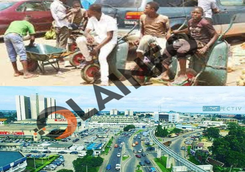 Welcome to Port Harcourt Where Wheelbarrow is One of The Means of Transporting Humans