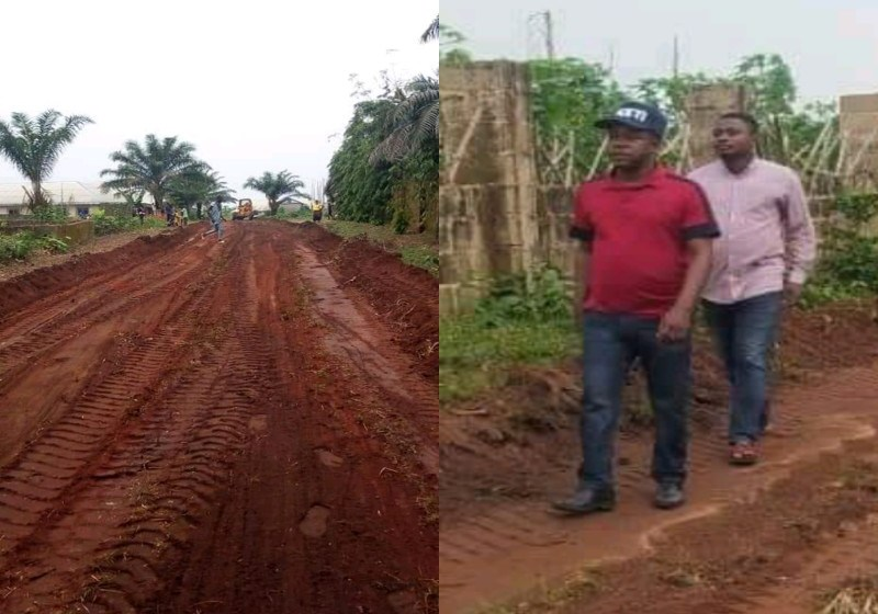 Council Chairman Inspects Street Grading, Charges Residents on Maintenance Culture