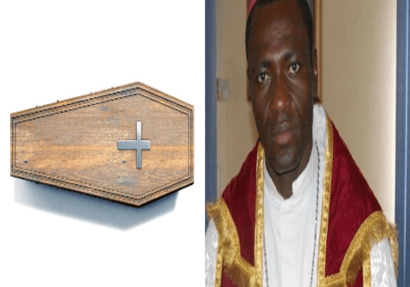 Pastor Carries Coffin On The Street Of Lagos, Says God Is Angry With Buhari