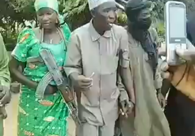 Watch as Boko Haram Commander Ties The Knot with Fulani Herdsman's Daughter  in Sambisa Forest