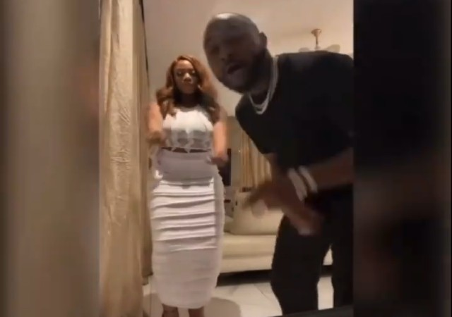Davido under Attack for Making a Video with BBNaija Angel in His House (Video/Photo)