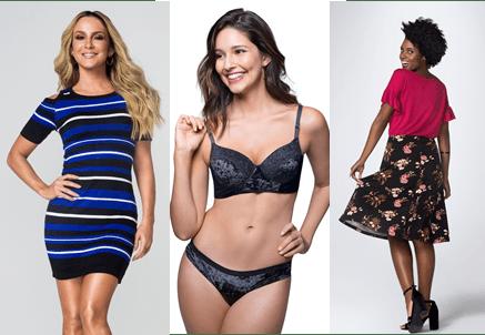 Marisa - nova coleção com opções para todas as mulheres.