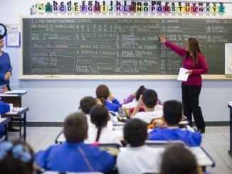 salário professores