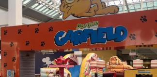 Entre as atrações está o Piano do Garfield, o Carrossel da Turma, o Kart do Garfield - um fusquinha com simulador de corrida do personagem e o Cineminha
