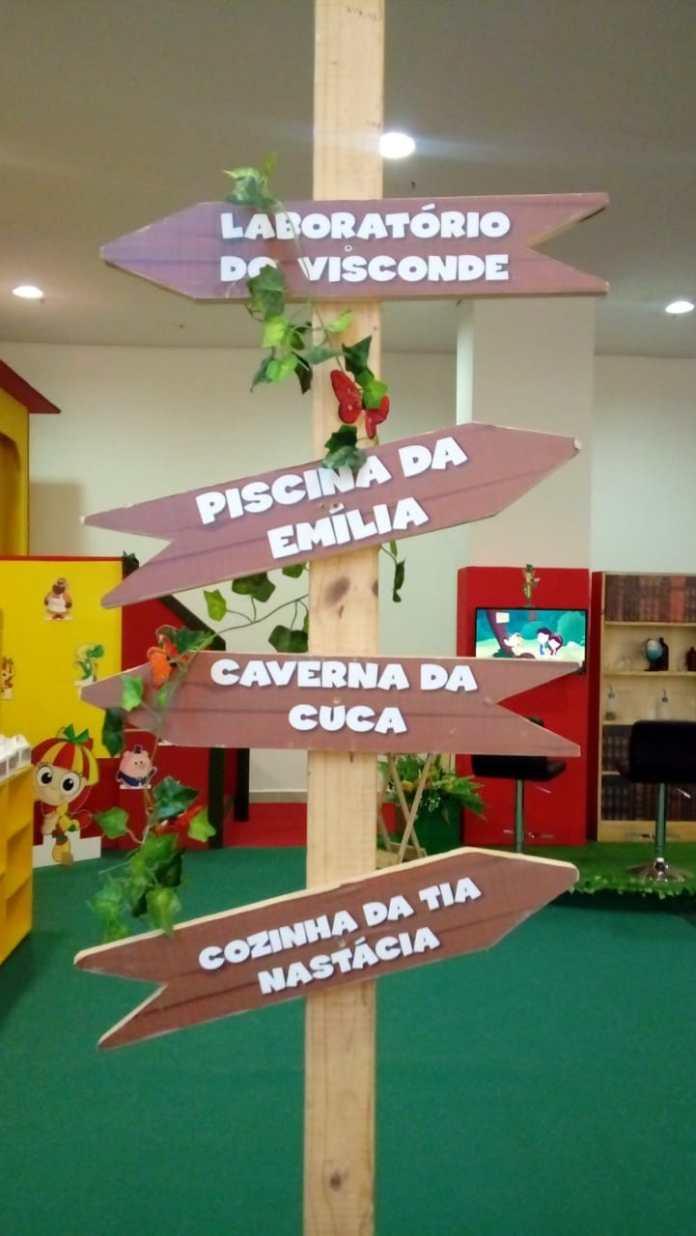 Sítio do Pica-Pau Amarelo traz diversão e cultura ao Iguatemi Esplanada