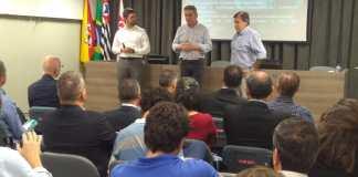 Eventos contaram com as presenças de representantes das empresas associadas fundadoras, de universidades públicas e de órgãos do governo municipal e estadual energias