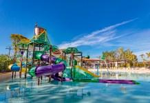 Complexo aquático infantil no Novotel Itu Golf & Resort: uma das opções especiais para o Dia das Crianças