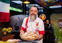 Pizza de Carambola é novidade da Coleção de Verão do Chef Gino Contin