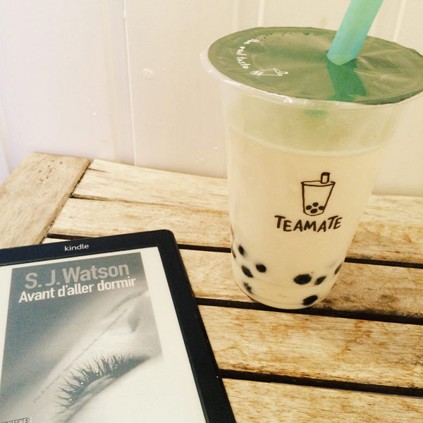 avant d'aller dormir kindle bubble tea image